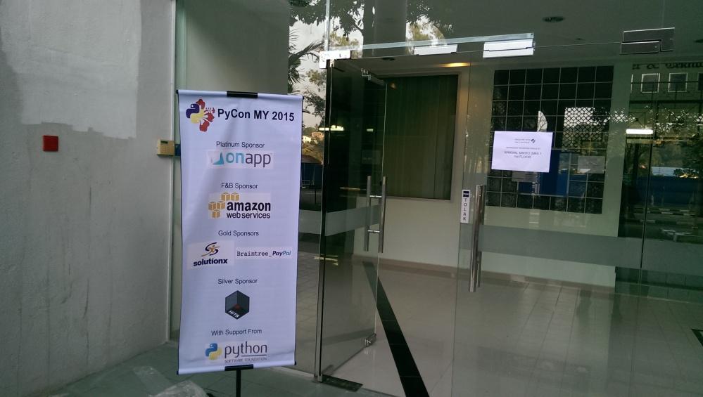 PyCon MY 2015 Workshop Entrance
